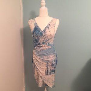 Tommy Bahama wrap dress. Beautiful blues